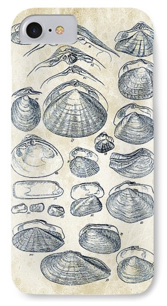 Mollusks - 1842 - 04 IPhone Case by Aged Pixel