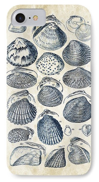 Mollusks - 1842 - 06 IPhone Case by Aged Pixel