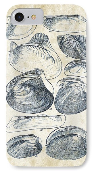 Mollusks - 1842 - 08 IPhone Case by Aged Pixel