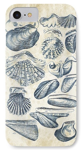 Mollusks - 1842 - 09 IPhone Case by Aged Pixel