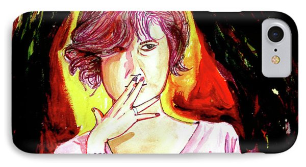 IPhone Case featuring the painting Molly by eVol i