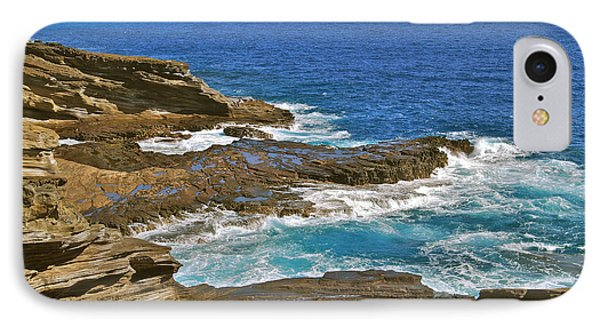 Molokai Lookout 0649 Phone Case by Michael Peychich