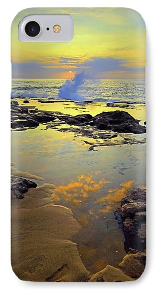 IPhone Case featuring the photograph Mololkai Splash by Tara Turner