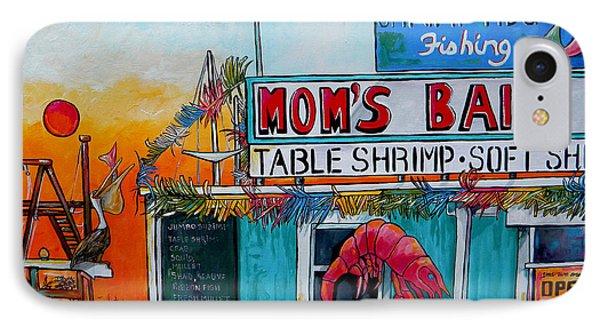 Moms Bait Shop IPhone Case by Patti Schermerhorn