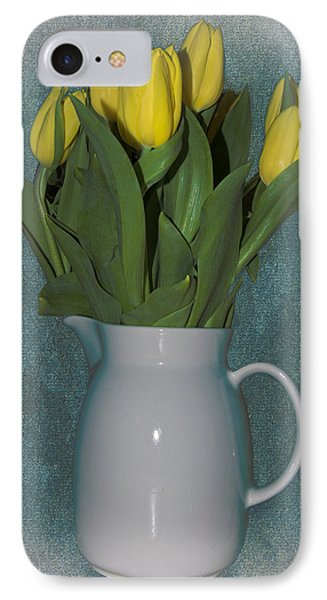 IPhone Case featuring the photograph Moms Tulips by William Havle