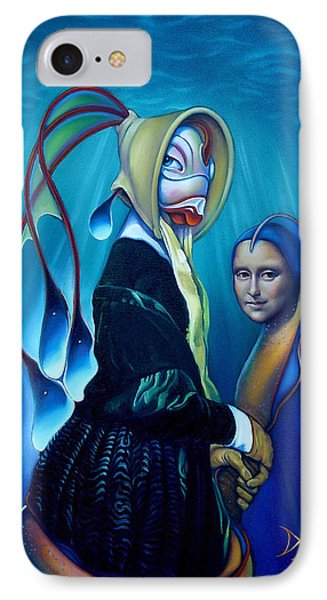 Mona Eelsa Phone Case by Patrick Anthony Pierson