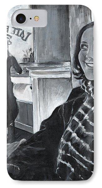 Mona Sandra  IPhone Case