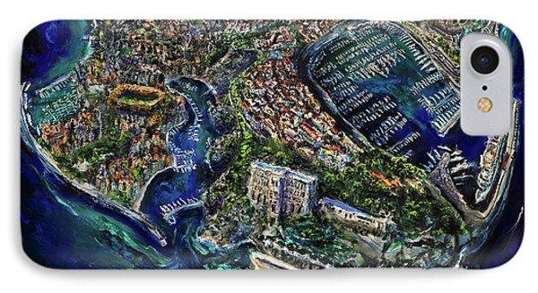 Monaco Phone Case by Antonio Ortiz
