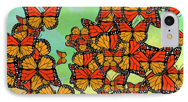 Monarch Butterflies IPhone Case