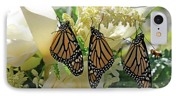 Monarch Butterfly Garden  IPhone Case