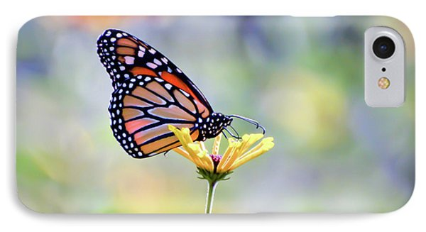 IPhone Case featuring the photograph Monarch Butterfly -  In The Garden by Kerri Farley