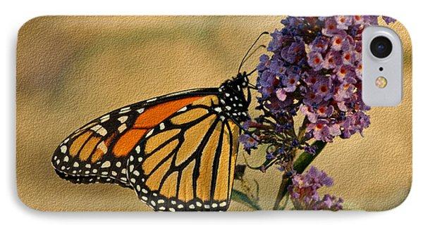 Monarch Butterfly Phone Case by Sandy Keeton