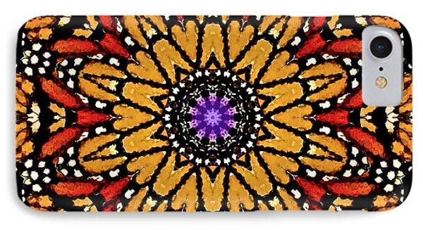 Monarch Butterfly Wings Kaleidoscope IPhone Case