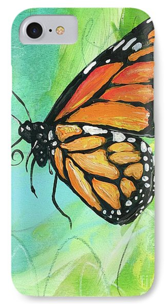 Monarch Dreams IPhone Case by Kim Heil