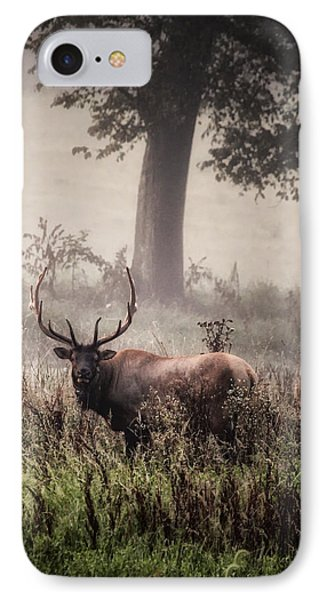IPhone Case featuring the photograph Monarch In The Mist by Michael Dougherty
