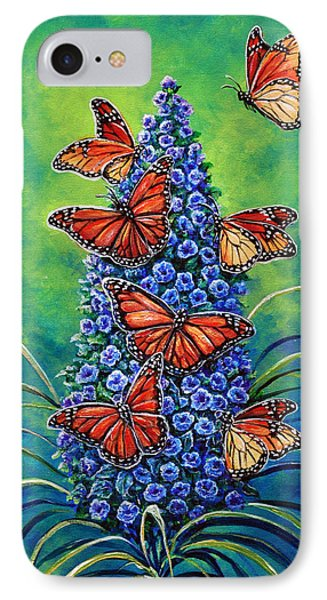 Monarch Waystation IPhone Case by Gail Butler