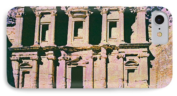 Monastery At Petra Phone Case by Dominic Piperata