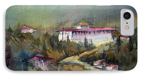 Monastery In Mountain IPhone Case by Samiran Sarkar