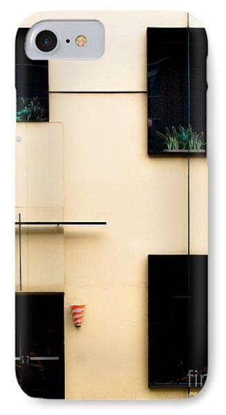 Mondrianic Fascade IPhone Case by James Aiken