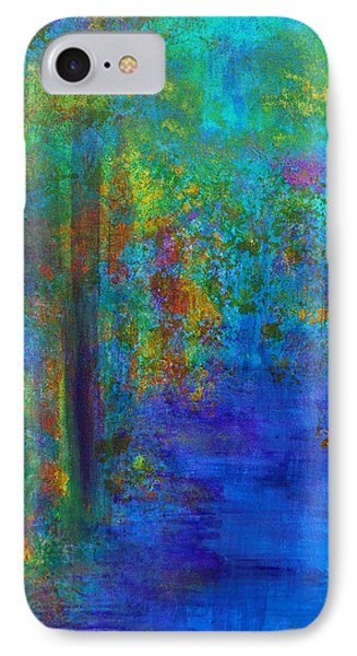 Monet Woods IPhone Case by Claire Bull