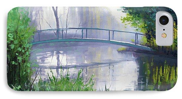 Monet's Garden  IPhone Case by Graham Gercken