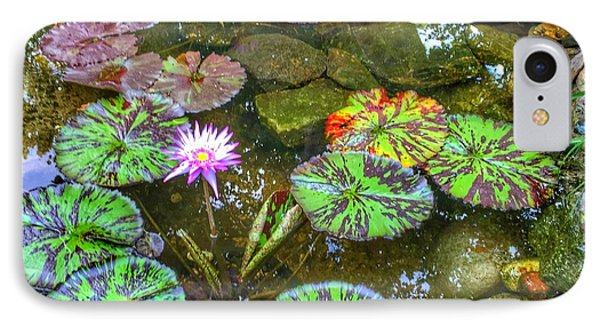 Monet's Pond At The Fair IPhone Case by Jame Hayes