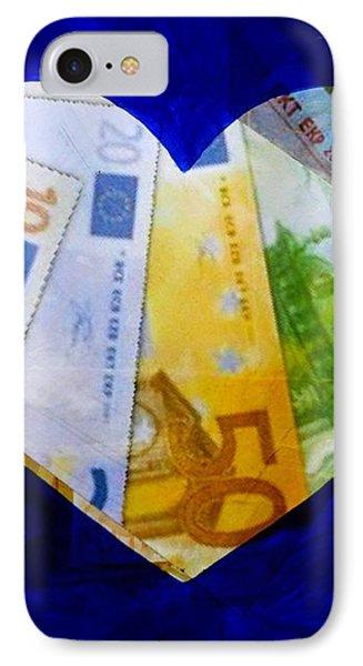 Money Collage II IPhone Case by John  Nolan