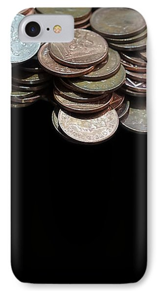Money Games IPhone Case by Jasna Buncic