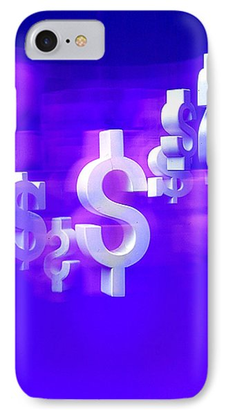 Money Problems Phone Case by Steven Huszar