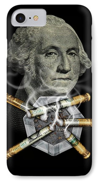 Money Up In Smoke IPhone Case