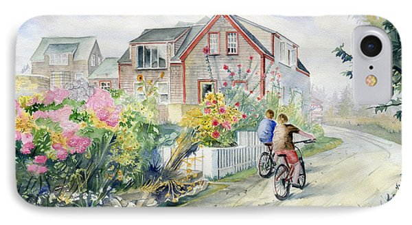 Monhegan Avenue  IPhone Case by Melly Terpening