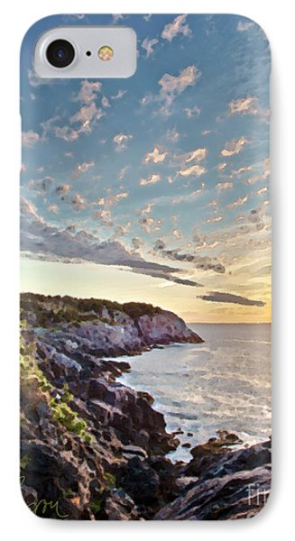 IPhone Case featuring the photograph Monhegan East Shore by Tom Cameron
