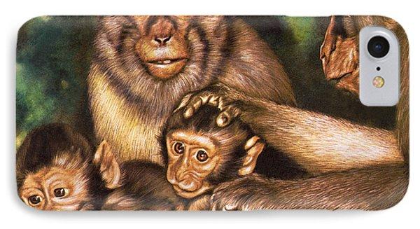 Monkey Family IPhone 7 Case