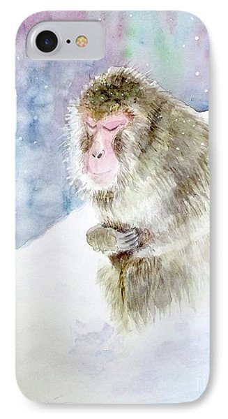 Monkey In Meditation IPhone Case