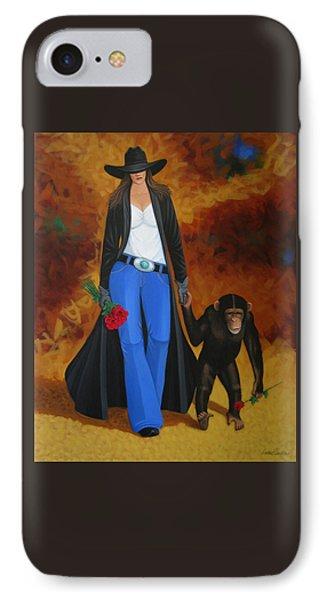 Monkeys Best Friend Phone Case by Lance Headlee