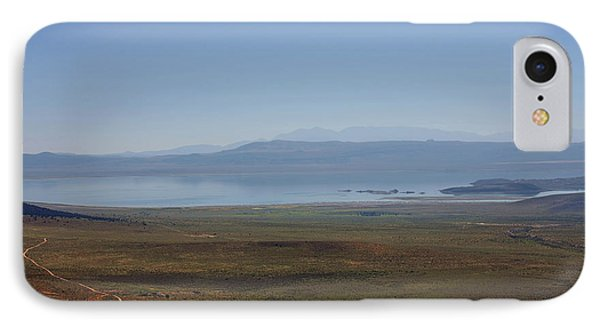Mono Basin Landscape - California Phone Case by Christine Till