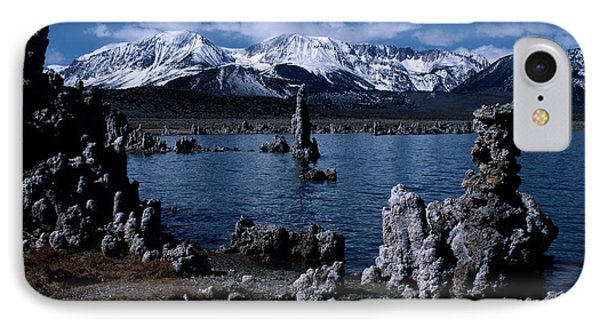 Mono Lake-signed IPhone Case by J L Woody Wooden