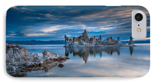 Mono Lake Tufas IPhone Case by Ralph Vazquez