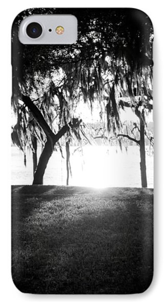 Monochrome Spanish Moss IPhone Case by Shelby Young