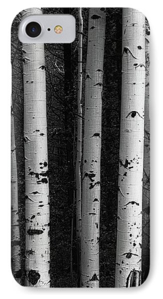 IPhone Case featuring the photograph Monochrome Wilderness Wonders by James BO Insogna