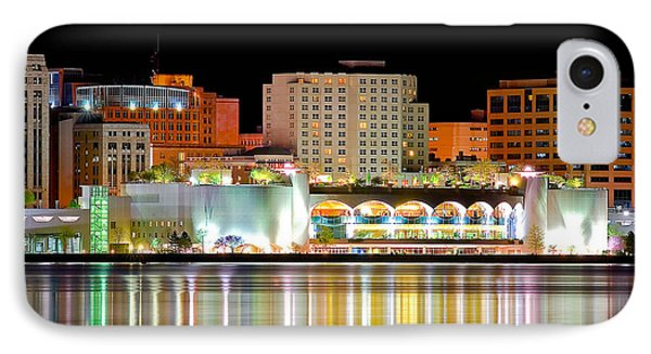 Monona Terrace Reflections IPhone Case by Todd Klassy