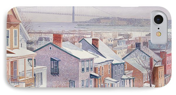 Monroe St Staten Island IPhone Case by Anthony Butera