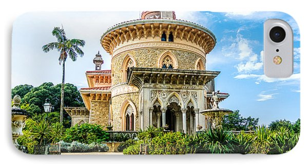 IPhone Case featuring the photograph Monserrate Palace by Marion McCristall