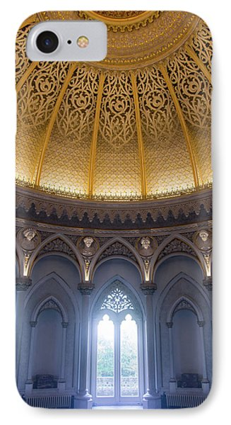 IPhone Case featuring the photograph Monserrate Palace Room by Carlos Caetano