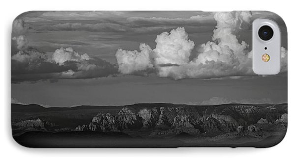 IPhone Case featuring the photograph Monsoon Clouds Over Sedona by Ron Chilston