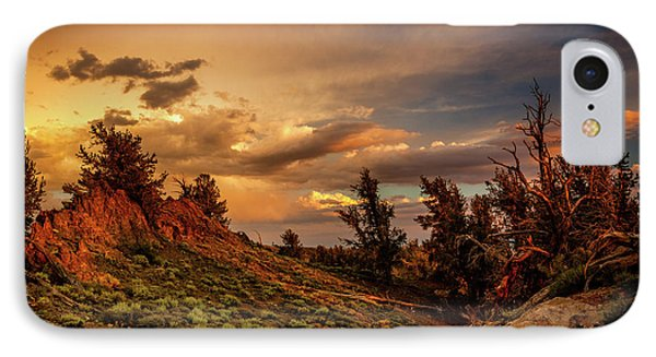 Monsoon Skies Over The Whites IPhone Case by Dan Holmes