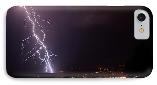 IPhone Case featuring the photograph Monsoon Storm by Ron Chilston