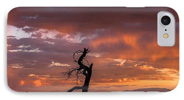 Monsoon Sunset IPhone Case by Elena E Giorgi