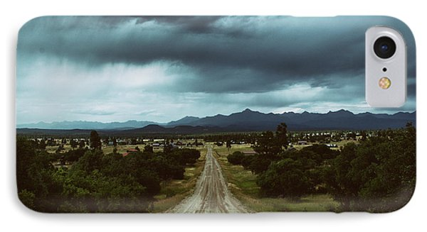 Monsoons From The Meadows IPhone Case by Jason Coward