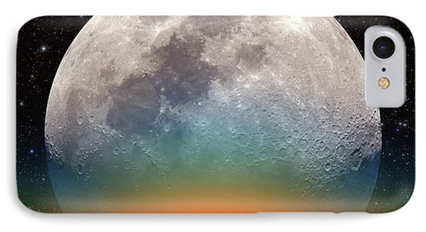IPhone Case featuring the photograph Monster Moonrise by Larry Landolfi